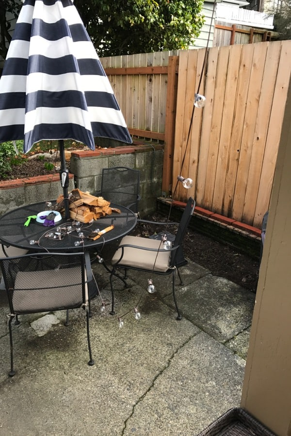 Outdoor Patio Reveal : See the Amazing Before and After