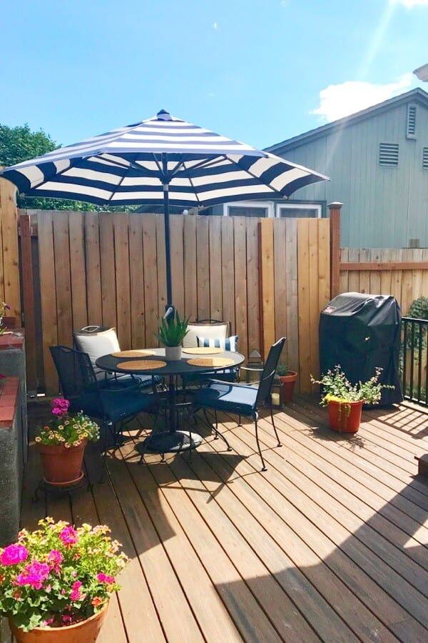 Our new Trex Deck: See the Amazing Before and After