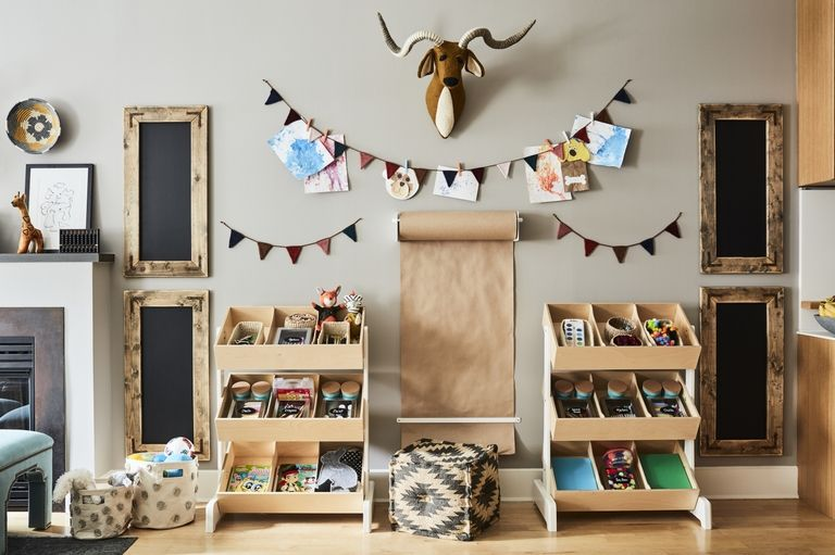 Stylish and organized toy storage