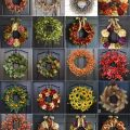 Check out these gorgeous fall wreaths for your door!