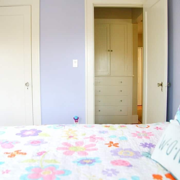 Purple Bedroom for a Girls Room or Nursery