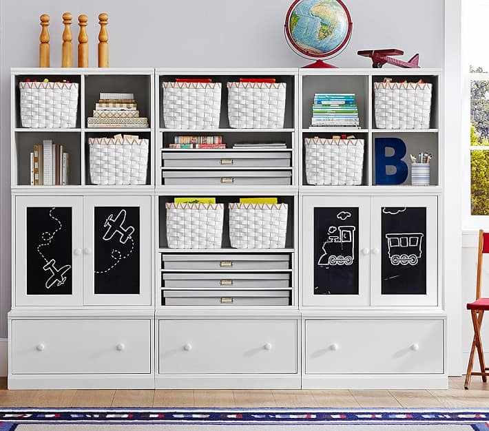 Pottery Barn toy organizer