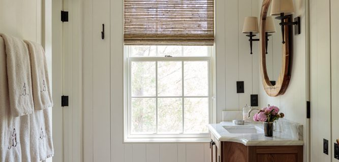 Inspiration :  Modern Rustic Bathrooms