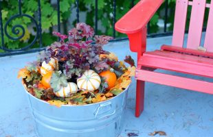 Simple Fall Planter Idea : This is the Easiest Planter you will ever Create