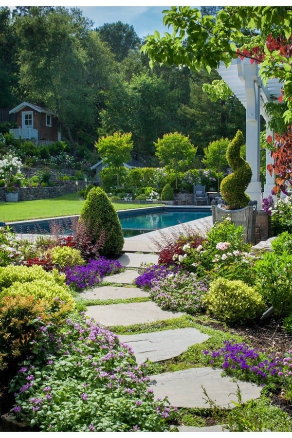 Concrete Walkway Project : Progress and Inspiration for your Landscapes
