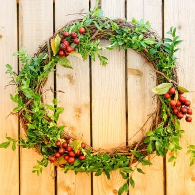 DIY :  Fall Wreath, A Quick and Easy Tutorial