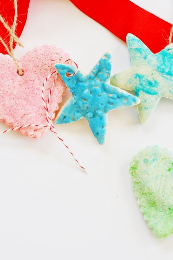 DIY: Salt Dough Ornaments Three Ways