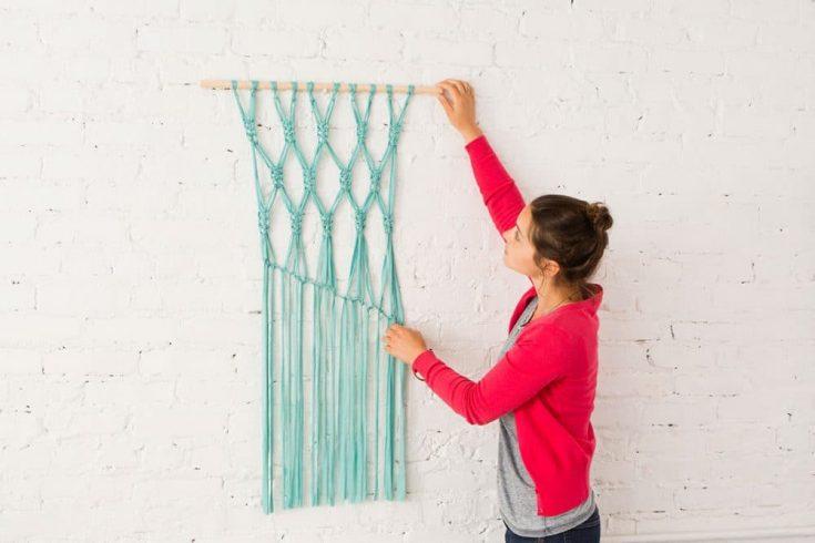 Jersey Fabric Wall Hanging