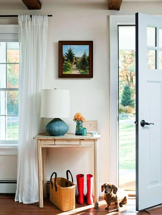 Small entryway design by Better Homes and Gardens