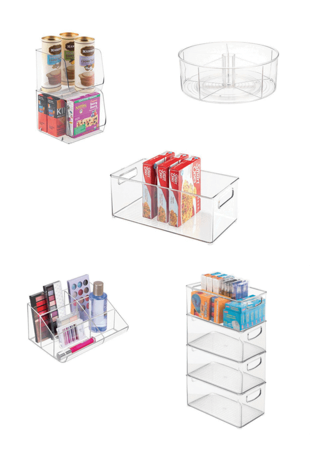 My Favorite Acrylic Organizers For your Whole House - Discover my favorite acrylic organizers to keep your whole house organized!