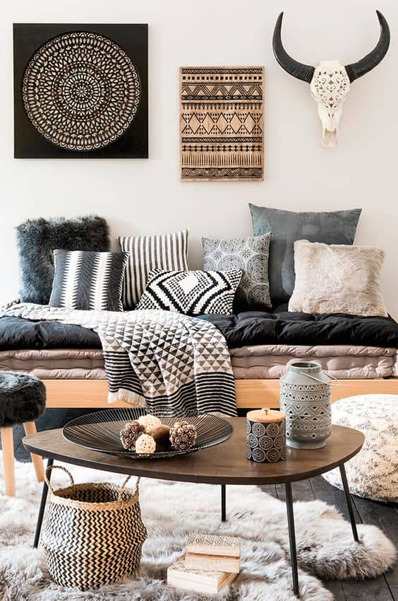 Get The Look: Modern Boho Home Decor - Decor Hint on Modern Boho Decor  id=75790