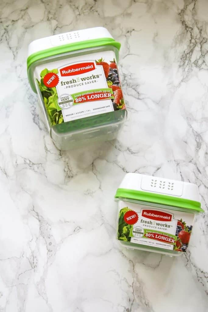 rubbermaid fresh works containers