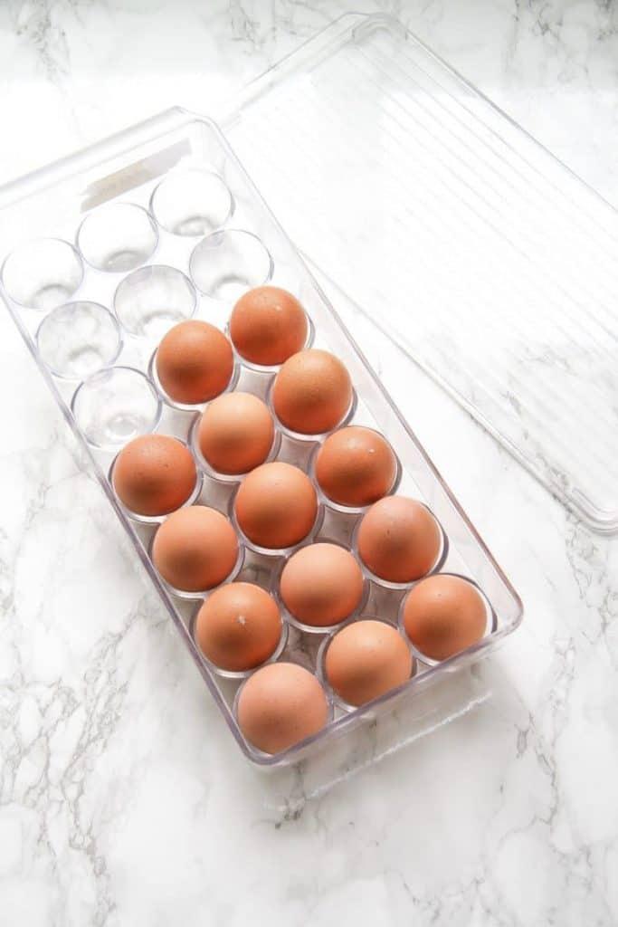 Egg organizer