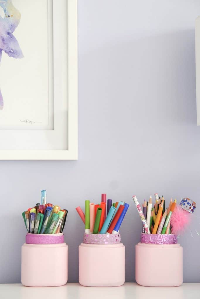 DIY Pencil Holders to Dress up your Desk