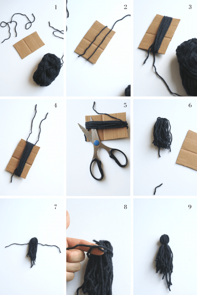 Follow this picture tutorial to make beautiful, handmade tassels. Once you learn this, you will want to put tassels on everything!