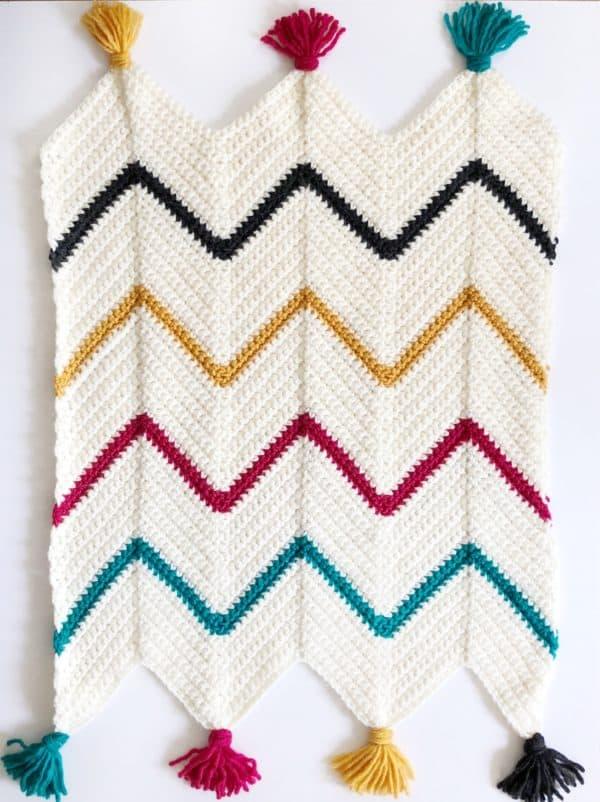 Make a crochet blanket