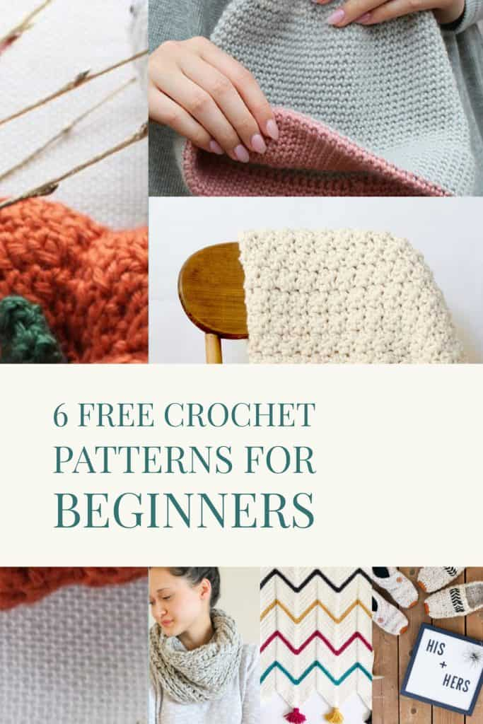 Free Crochet Patterns For Beginners Decor Hint