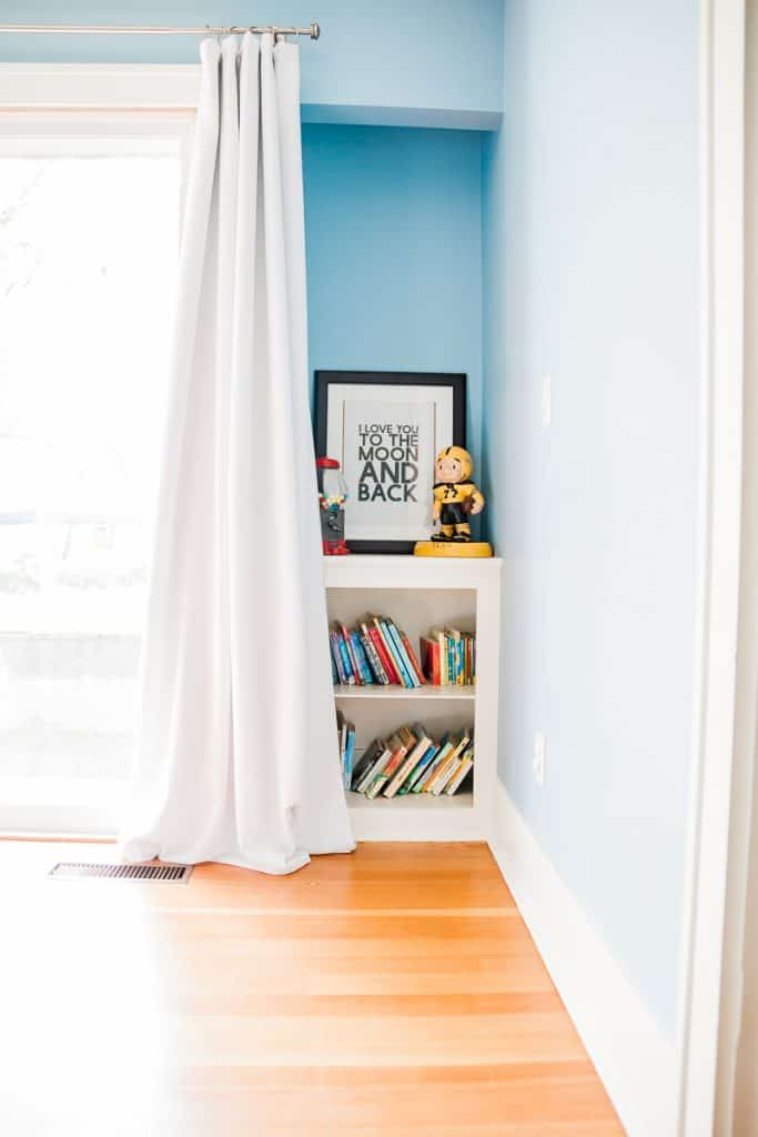 DIY blackout drapes