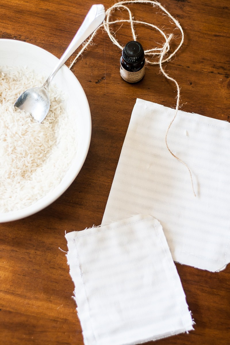 Diy Scented Sachets With Rice And Essential Oils Decor Hint