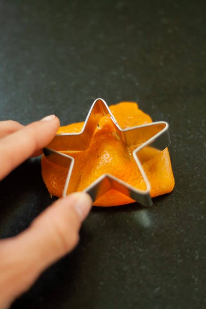 Use cookie cutters to cut neat shapes out of fruit and citrus peels for potpourri