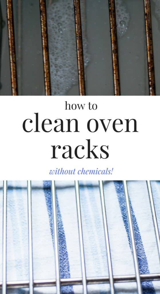 I have been searching high and low for solutions on how to clean oven racks.  This method will take some time and a bit of elbow grease, but it's worth it!  And the best part is, you probably have the solution sitting in your house somewhere right now.  #cleaning #greencleaning