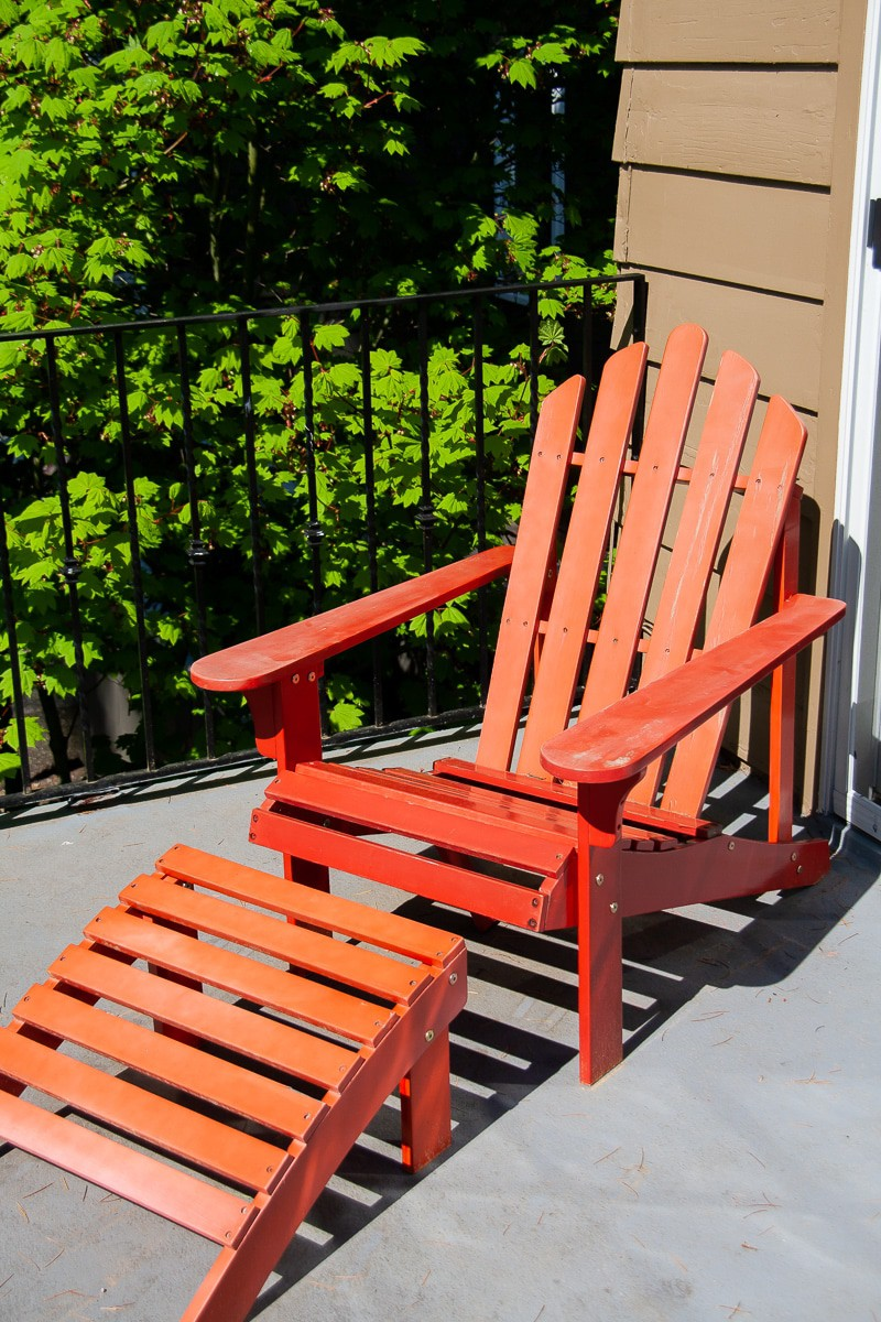 Adirondack Chair - Before