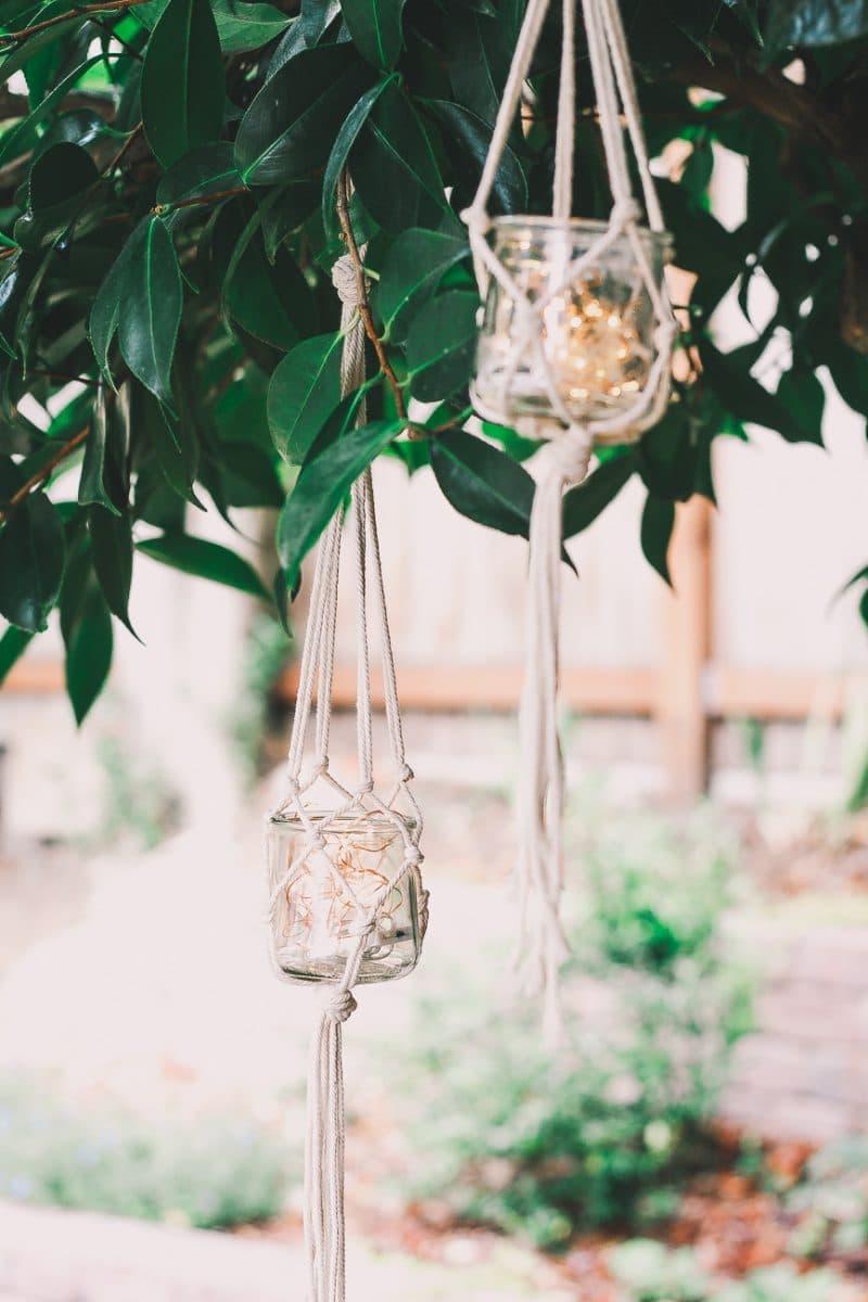 Diy Macrame Jar Hanger You Can Make In 5 Minutes Decor Hint