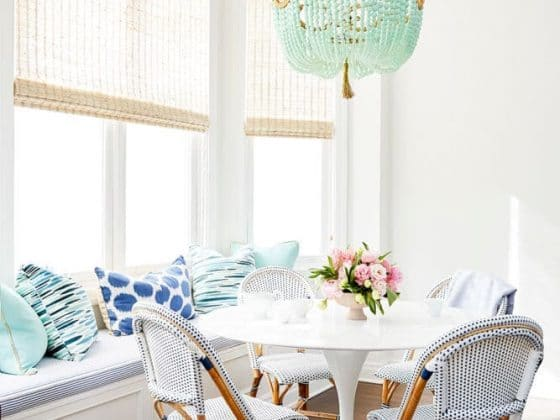 Paris Bistro Chairs - where to find them and inspiration on how to use them! These beautiful Parisian bistro chairs give your rooms that perfect pop of texture and interest without the clutter.