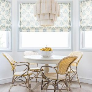 Home Decor Idea: yellow bistro chairs decor pad