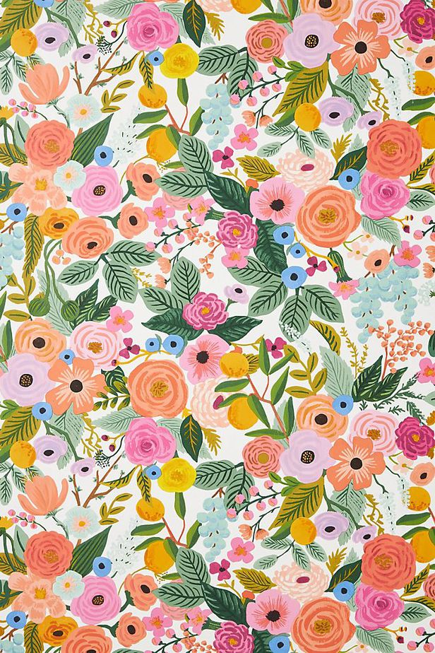 rifle paper company beautiful floral fabrics