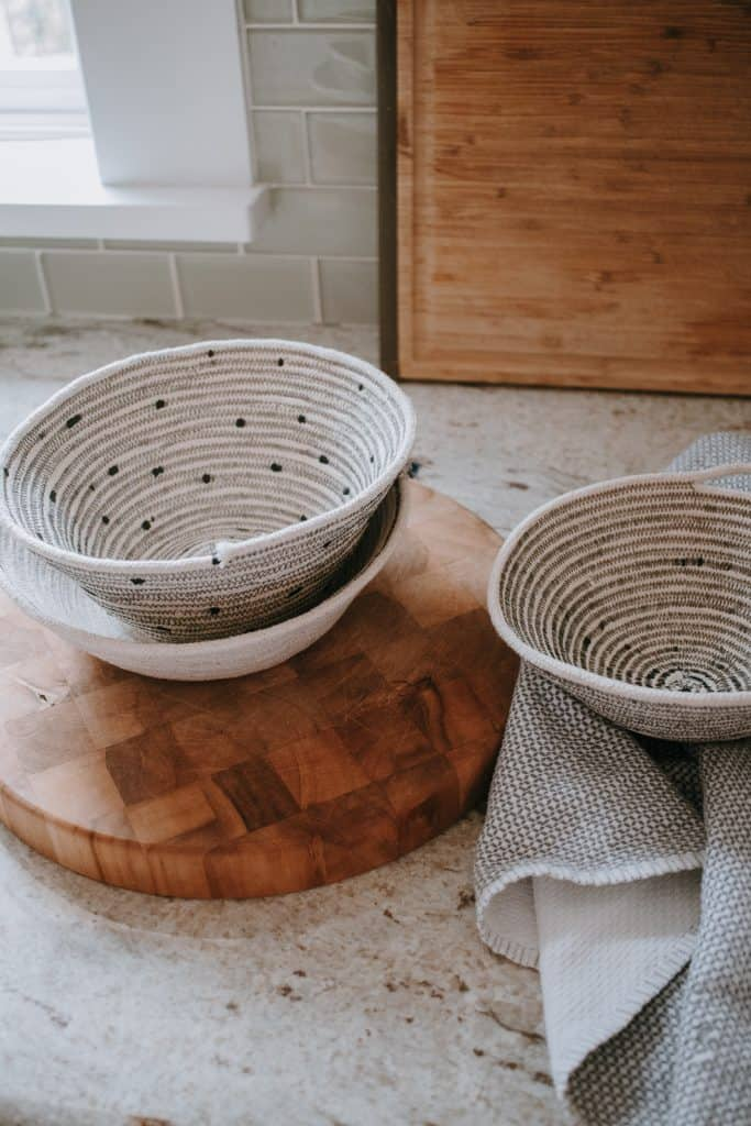 How to Make Rope Baskets