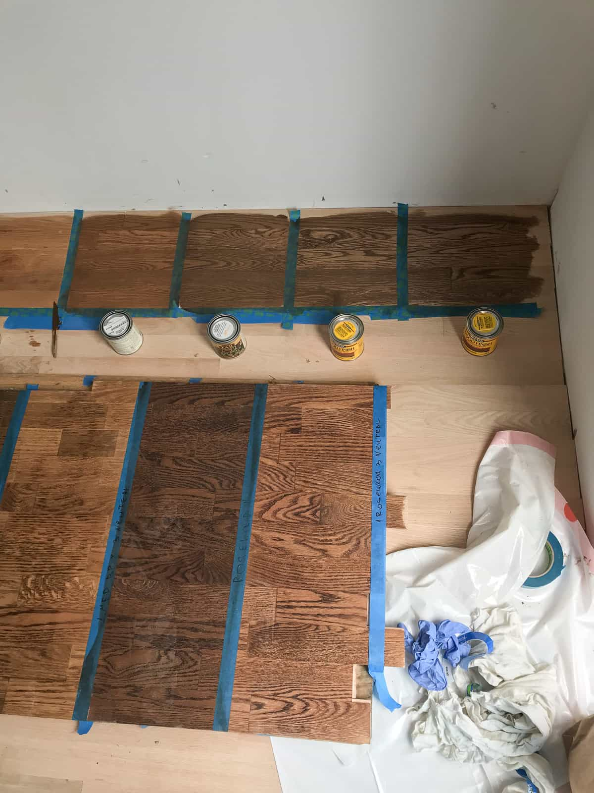 Red Oak Floor Stains What We Chose And What We Will