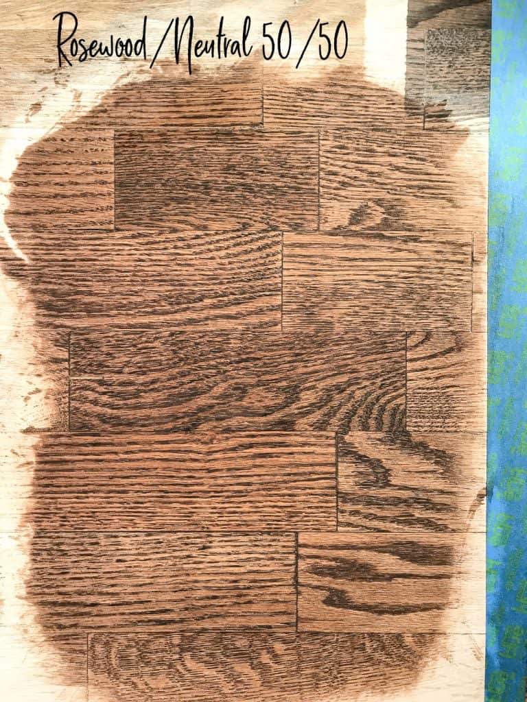 Red Oak Floor Stains