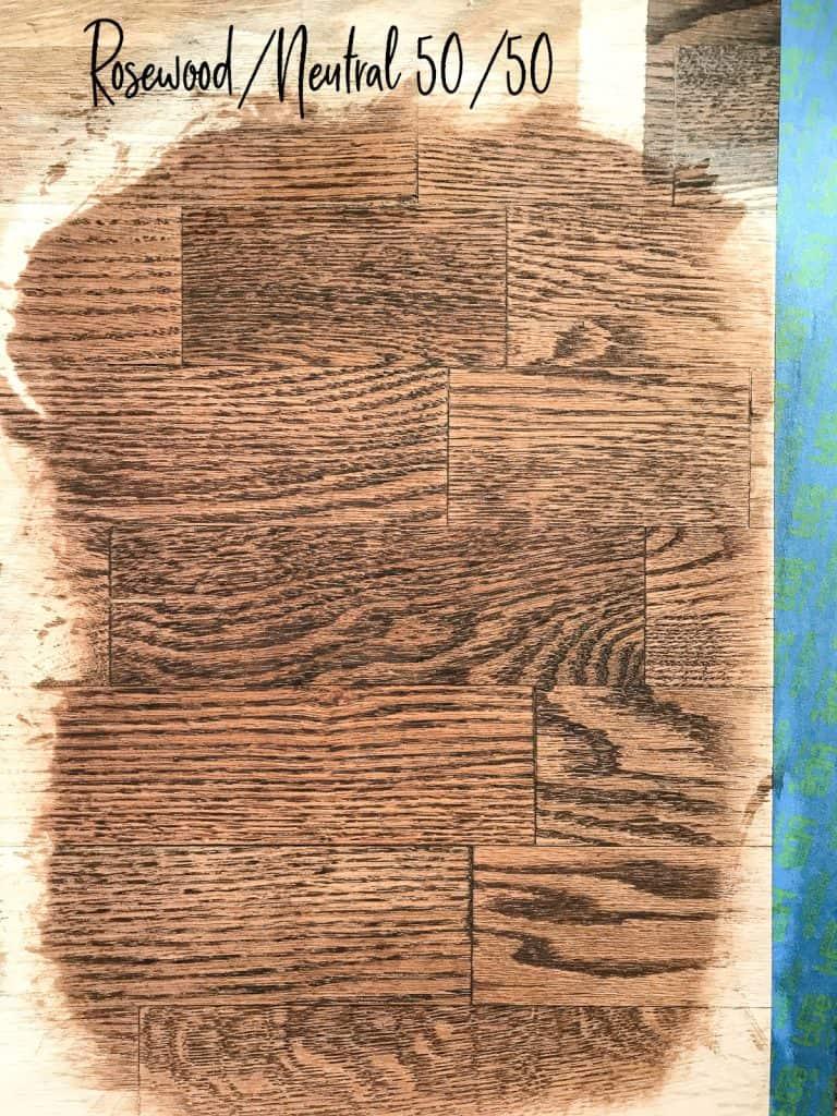 Hardwood Floor Stains on Red Oak