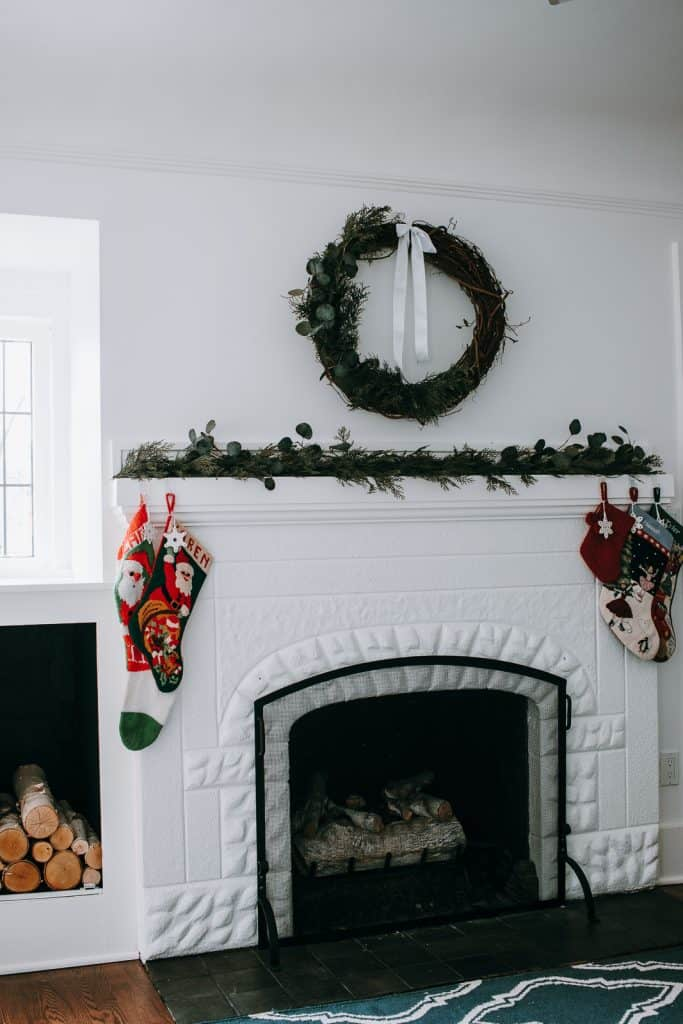 Craftsman Style Christmas Home Tour 2018 - I thought it was about time I show you guys our home! Or at least a little bit more than I have.  This is not the official before and after of our renovation.  As I type this, they are still hammering away on some things in our home.  So, it's just not ready quite yet!