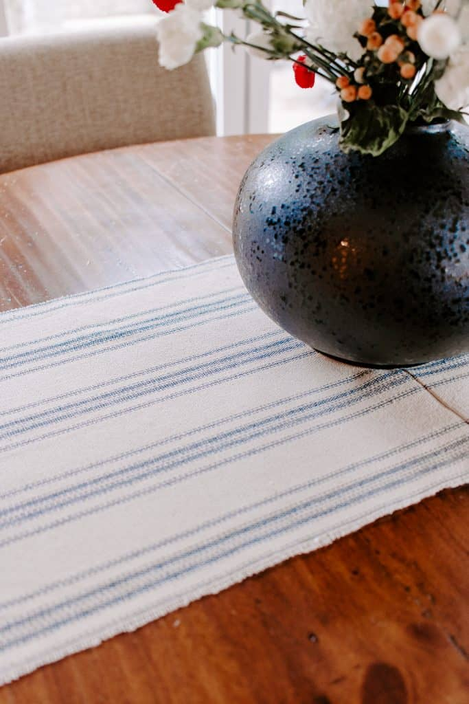 DIY Christmas Table Runner