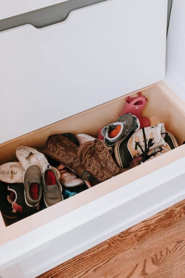 Storage Shoe Bin
