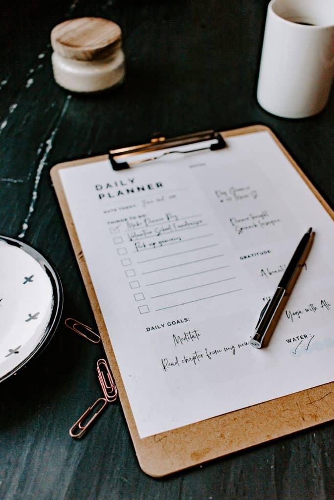 free printable daily planner 2019 #printableplanner #freeprintables #plannerorganizer #newyear