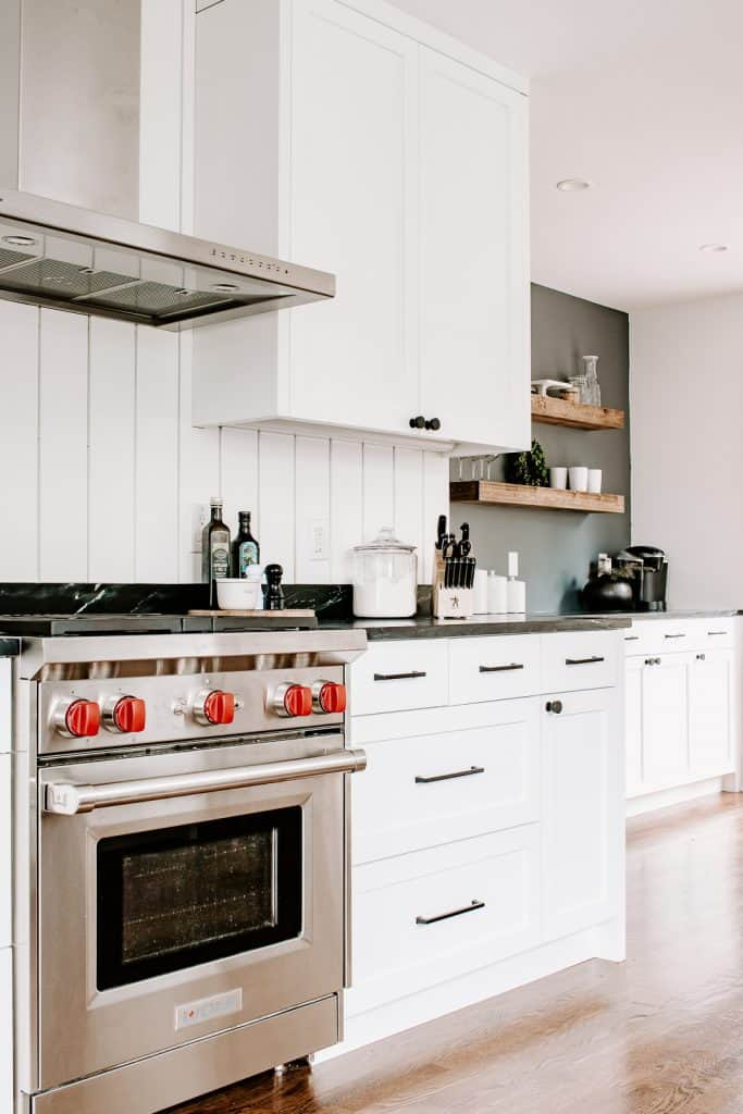 Our New Galley Kitchen Tour - Decor Hint - Before/After Reveal - #kitchenremodel #kitchendesign #beforeandafter #hometour #renovation