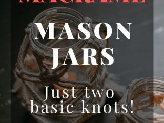 How to Create Pretty Macrame Mason Jars -   Make these rustic macrame mason jars for your decor.
