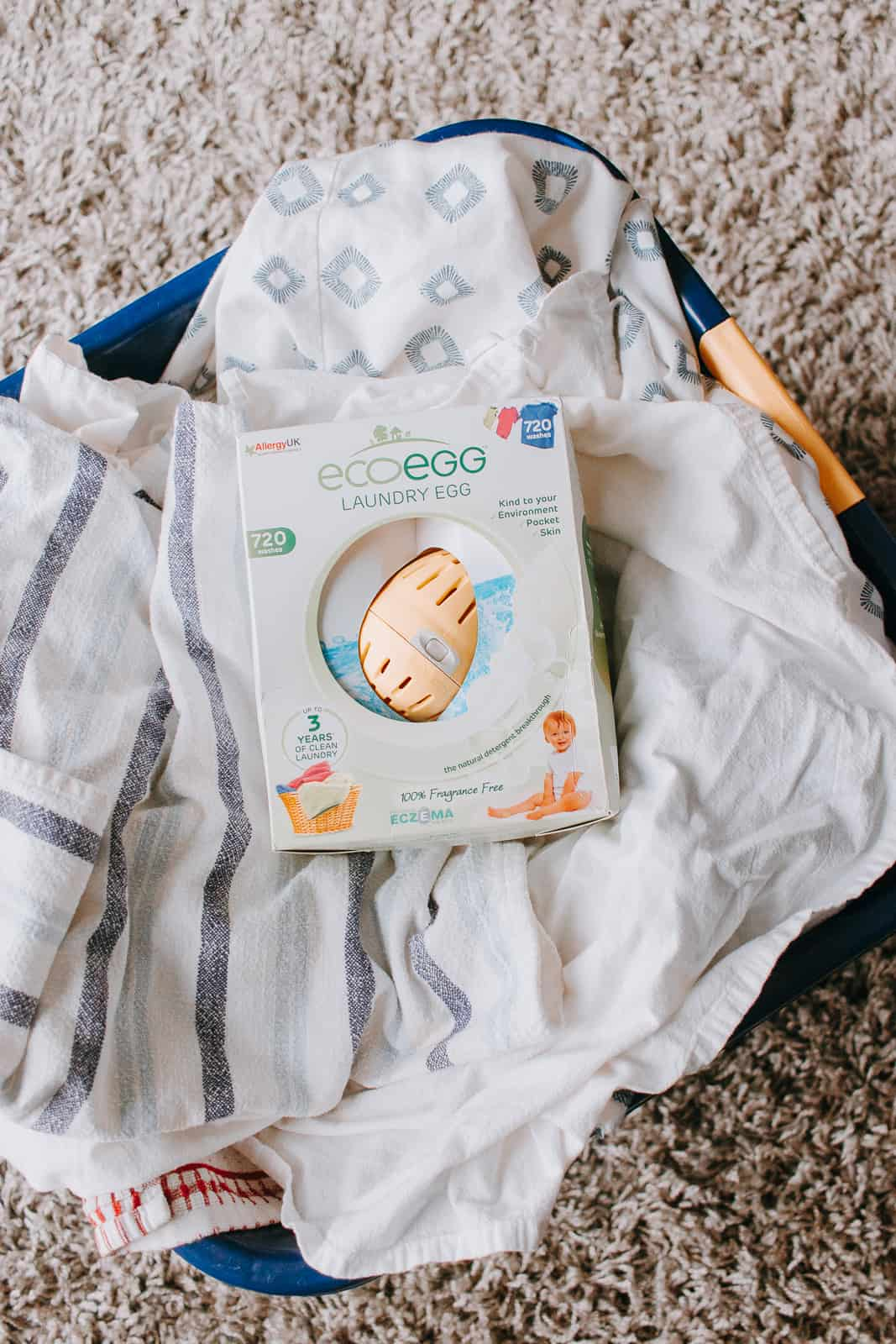 Ecoegg Laundry Egg Review with an HE machine #frugal #homemaking #laundry