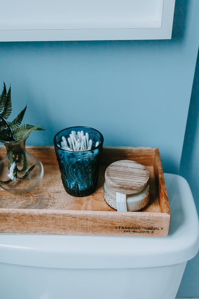 Tank Tray Tips for your Bathroom