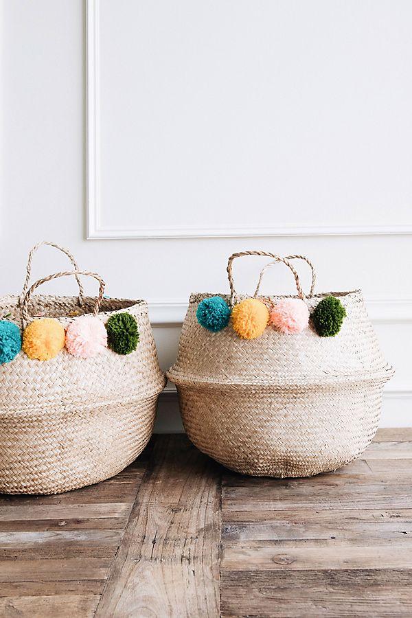 Anthropologie Belly Basket