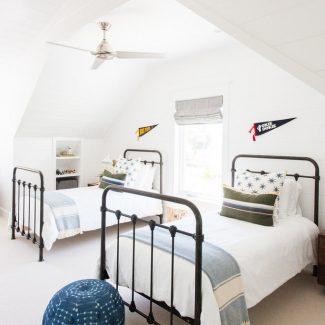Studio McGee - Boys Room Iron Bed