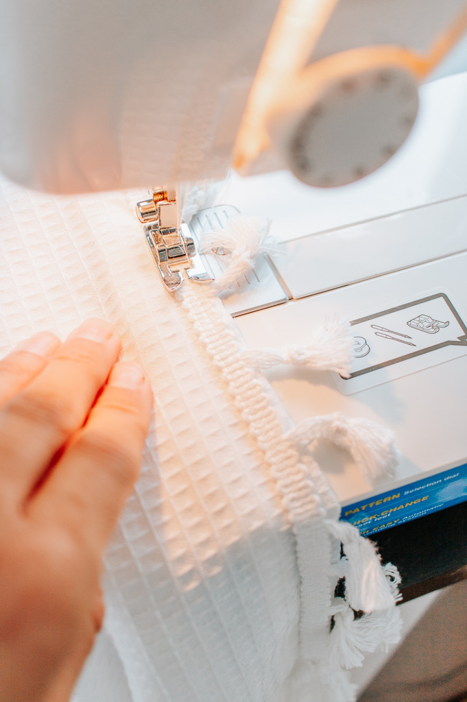 sew your tassel trim