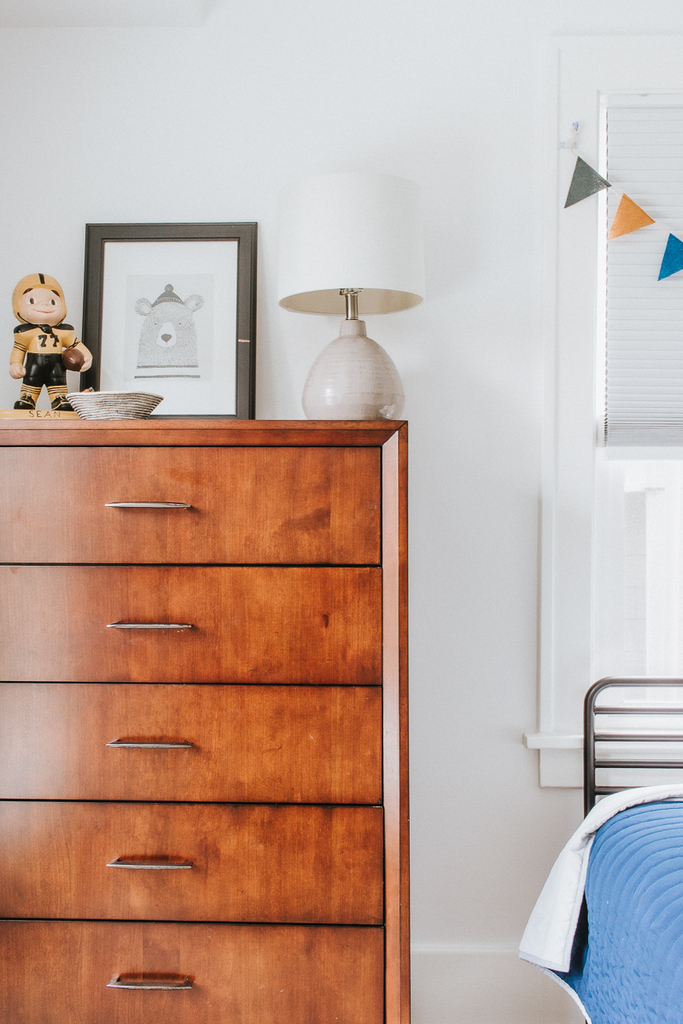 Walnut Dresser - Kids room Decor