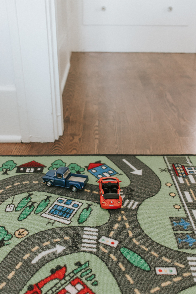 Boys Room Car Road Rug