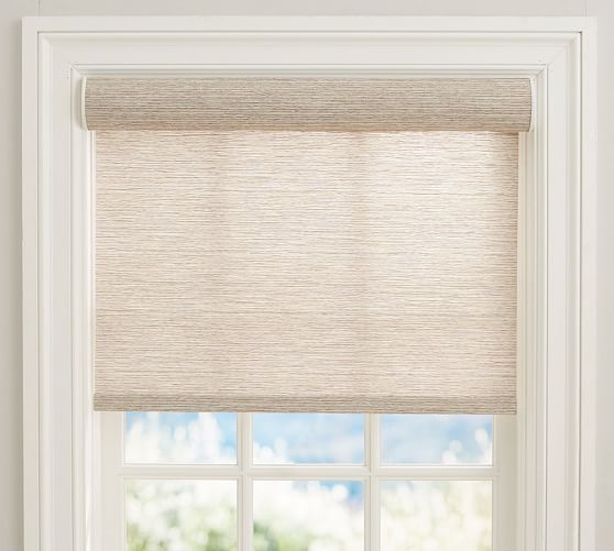 linen shade from Pottery Barn