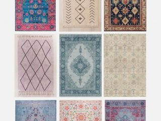 The Best Machine Washable Rugs & Where to Get Them - A roundup of the best machine washable rugs.