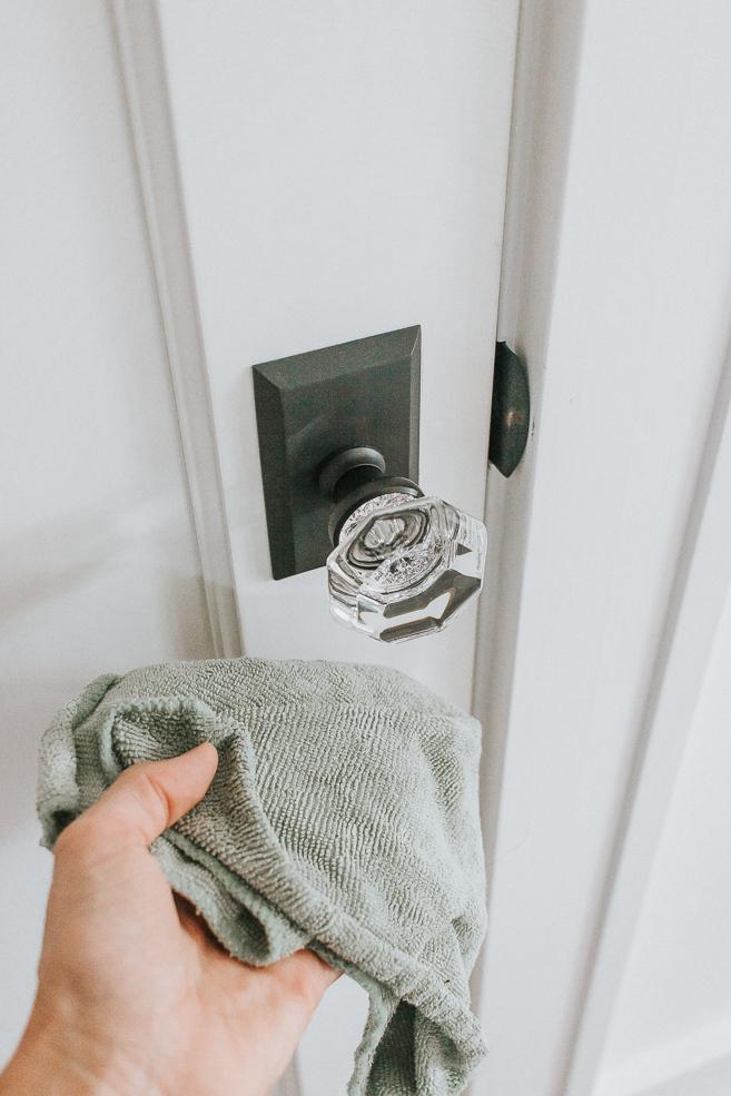 Disinfect Doorknobs